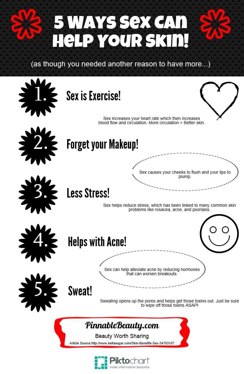 5 Ways Sex Helps Your Skin!