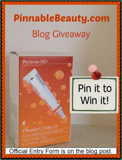 Vitamin C Ester Giveaway!