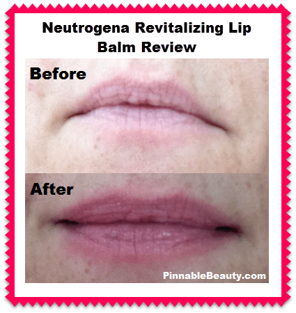 Neutrogena Revitalizing Lip Balm Review