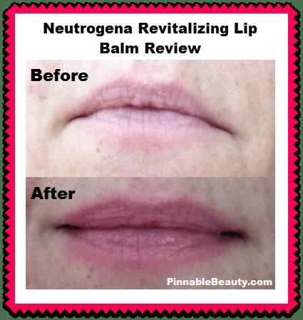 neutrogena revitalizing lip balm review