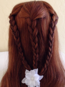 3 braid back